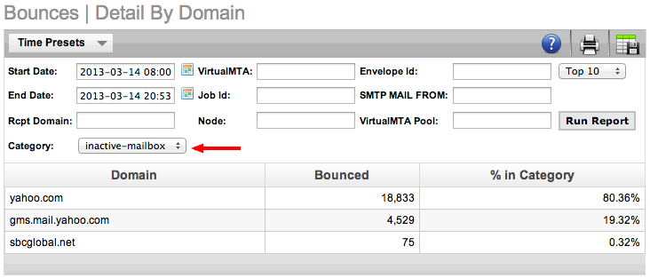 Reporting in the PowerMTA Management Console: Part I–Bounce